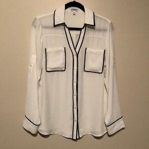 Black and White Express Portofino Shirt